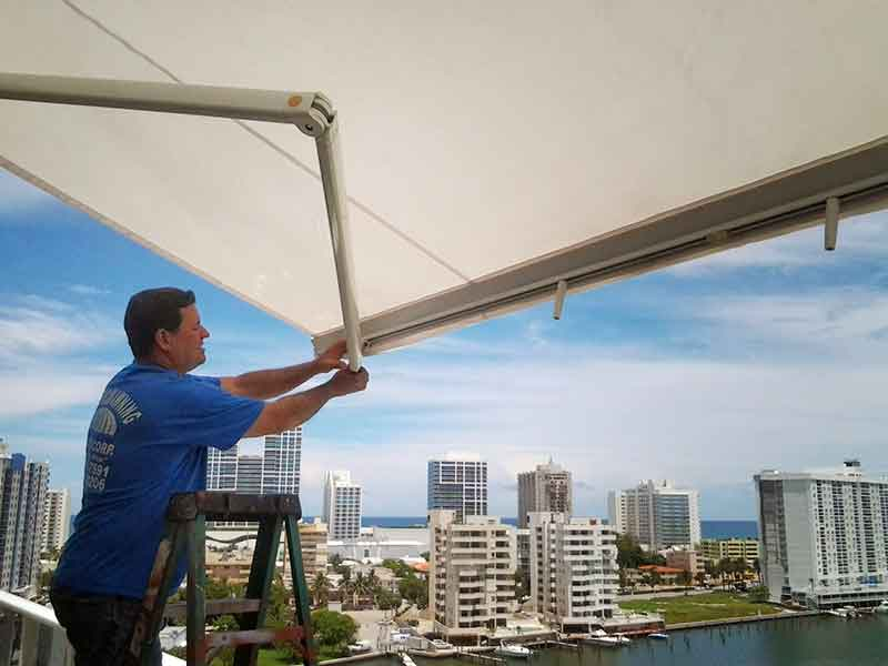 Diamond Awning Making The Perfect Shading To Fit Your Space